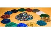 Оформление захоронения цветным щебнем